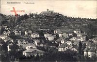 Niederlößnitz Radebeul im Kreis Meißen, Ortschaft mit Friedensburg