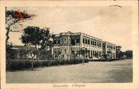 Brazzaville Franz. Kongo, L'Hôpital, Krankenhaus