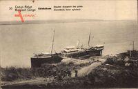 Shinkakasa Demokratische Republik Kongo Zaire, Dampfschiff