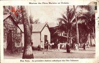 Rua Sura Salomonen, La première station catholique, Missions Maristes