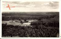 Spreewaldbilder, Schützenhaus, Fliegeraufnahme, Waldgebiet