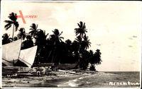 Pernambuco Brasilien, Palmenstrand, Segelboote