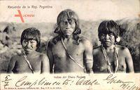 Argentinien, Südamerikanische Indianer, Junger Mann, Frauen