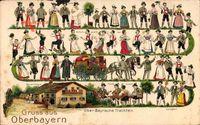 Gruß aus Oberbayern, Trachten, Taufe, Schuhplattler, Hochzeit
