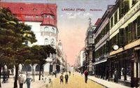 Landau in der Pfalz, Blick in die Marktstraße, Uhren, Gold, Silberwaren