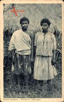 Neukaledonien, Nouvelle Calédonie, Femmes de chefs paiens, Eingeborene Frauen