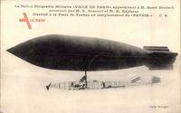 Ballon Dirigéable Militaire, Ville de Paris, M. Henri Deutsch, Zeppelin