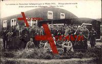 Köln Wahn, Verbündete im deutschen Gefangenenlager 1914, Gruppenfoto