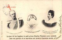Carl Theodor in Bayern, Herzogin Henriette von Belgien, Karl von Belgien