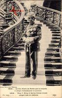 König Peter I. Karadjordjevic von Jugoslawien, Roi Pierre de Serbie, Uniform
