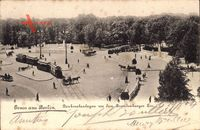 Berlin Tiergarten, Denkmalanlagen vor dem Brandenburger Tor