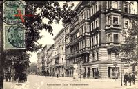 Berlin Schöneberg, Die Keithstraße Ecke Wichmannstraße