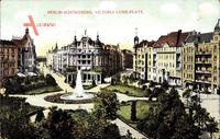 Berlin Schöneberg, Blick auf den Victoria Luise Platz