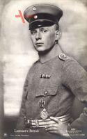 Leutnant Joachim von Bertrab, Uniform, Schirmmütze, Sanke 531