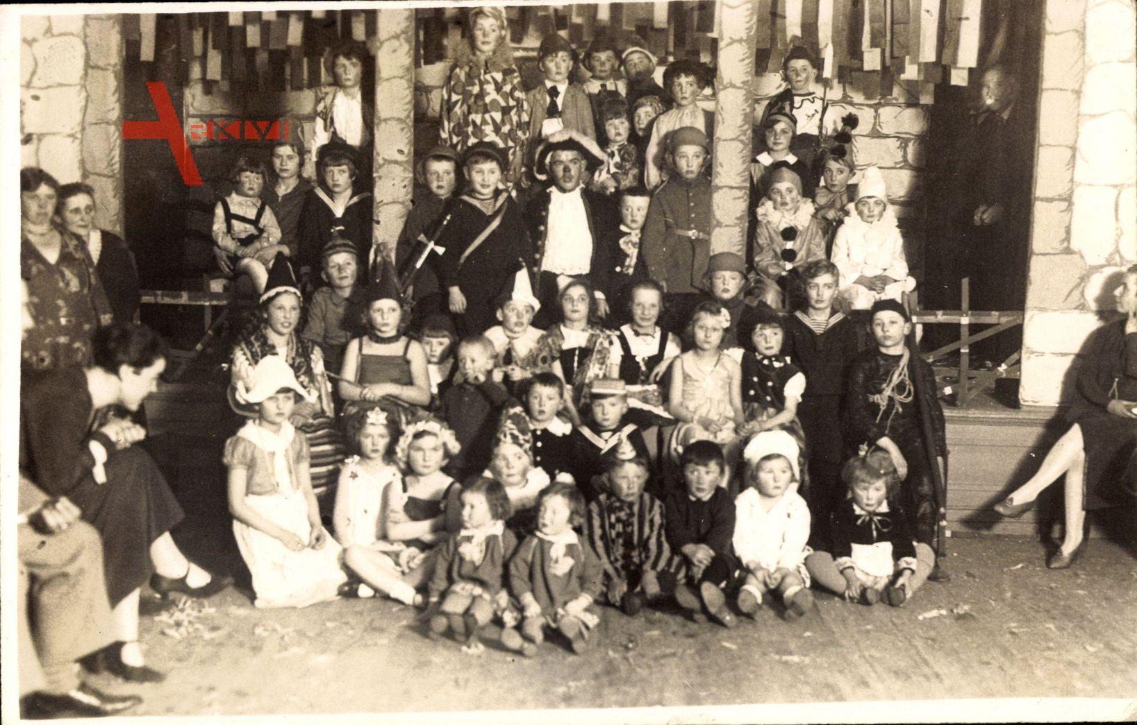 Weimar in Thüringen, Kindermaskenball 16. Februar 1930, Fasching
