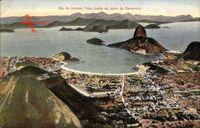 Rio de Janeiro Brasilien, Vista tirada do cume do Corcovado, Zuckerhut