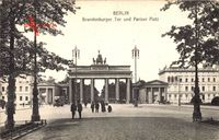 Berlin, Brandenburger Tor und Pariser Platz, Quadriga