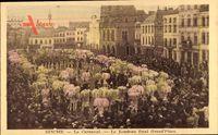 Binche Wallonien Hennegau, Le Carnaval, Le Rondeau final Grand'Place