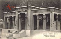Rio de Janeiro Brasilien, Exposition Nationale, Pavillon Egyptien