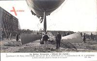 Le Ballon Dirigéable Ville de Paris, Zeppelin, M. Henry Deutsch
