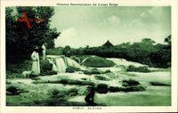 Rungu DR Kongo Zaire, Mission Dominicaine du Congo Belge, La Rivière