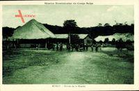 Rungu DR Kongo Zaire, Mission Dominicaine du Congo Belge,Entrée de la Mission