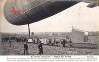 Le Ballon Dirigéable Ville de Paris, Franz. Zeppelin, M. Henry Deutsch