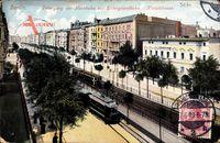 Berlin Schöneberg, Übergang der Hochbahn zur Untergrundbahn, Kleiststraße