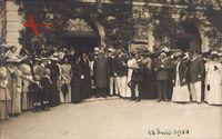König Ludwig III. von Bayern, Gruppenfoto, 28 Juli 1910