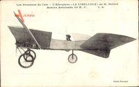 Les Pionniers de l'Air, Aéroplane La Libellule, Blériot, Monoplan