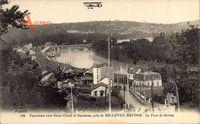 Bellevue Meudon Hauts de Seine, Le Pont de Sèvres, Biplan
