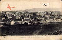 Bizerte Tunesien, Blick zur neuen Stadt, Doppeldecker