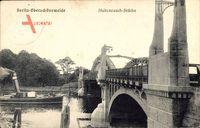 Berlin Köpenick Oberschöneweide, Stubenrauchbrücke, Flussdampfer