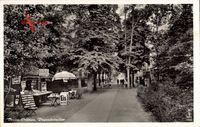 Berlin Köpenick Grünau, Büxensteinallee, Eisstand, Promenade