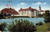 Berlin Weißensee, Gemeinde Turn und Festhalle,Verwaltungshaus,Bethanienkirche