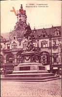 Essen im Ruhrgebiet, Kriegerdenkmal, Monument de la Guerre de 1870