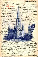 Berlin Charlottenburg, Ansicht der Kaiser Wilhelm Gedächtniskirche