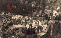 Goslar Schiefergrube in Niedersachsen, VDA Treffen 1927