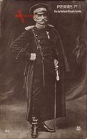 König Peter I. Karadjordjevic von Jugoslawien, Serbien, Portrait, Uniform