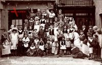 Buttstädt im Thüringer Becken, Kinder Fastnacht Feier im Schollain 1932