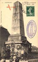 Bazeilles Ardennes, Le Monument commémoratif de la Bataille 1870
