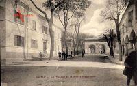 Setif Algerien, Le Tresor et la Porte Napoleon, Straßenpartie, Häuser