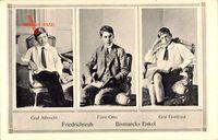 Friedrichsruh, Bismarck Enkel, Graf Albrecht, Fürst Otto, Graf Gottfried