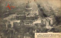 Paris, Dirigéable militaire Eclaireur Conté, Zeppelin, Panthéon