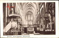 Xanten am Niederrhein, Dom Inneres, Mittelschiff, Kanzel