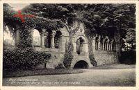 Gelnhausen Hessen, Barbarossaburg, Ruinen des Rittersaales