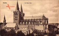 Xanten am Niederrhein, Totalansicht vom St. Victor Dom