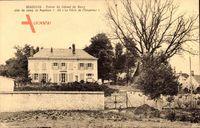 Beaurieux Aisne, Maison du Colonel de Bussy aide de camp de Napoleon