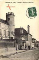 Ruvet Aisne, Environs de Charly, La Tour Napoléon, Straßenpartie