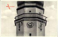 Oława Ohlau Schlesien, Rathausturm mit Historischer Uhr, Stengel 72790
